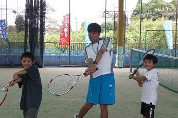 09.9.22テニスの日のJrたち