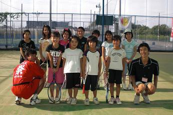 09.9.23テニスの日のJrたち